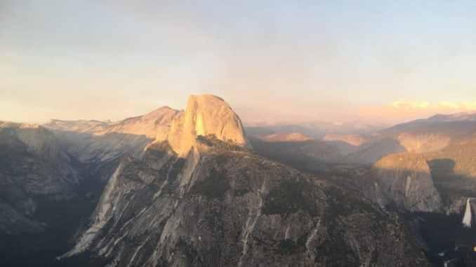 Half Dome Yosemite Glacier Point
