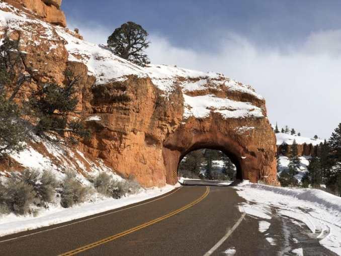 Bryce Canyon in de winter