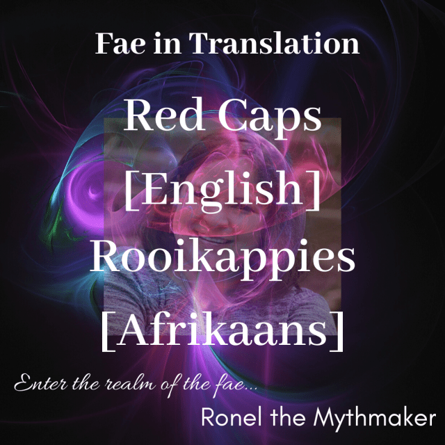 red cap English Afrikaans