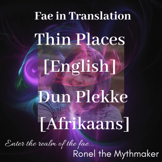 thin places English Afrikaans