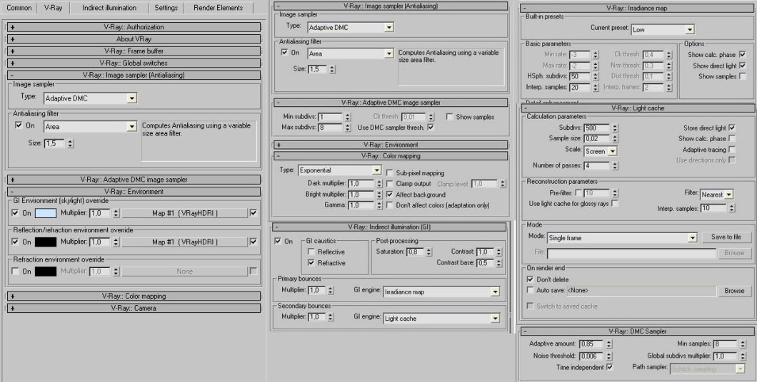 Vray sketchup interior render settings pdf - Vray exterior rendering settings pdf ...