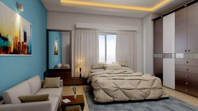 Modern Bedroom Interior Design Rendering - Ronen Bekerman ...