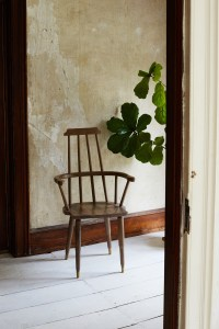 Casey Dzierlenga Wooden Windsor Jupiter Chair