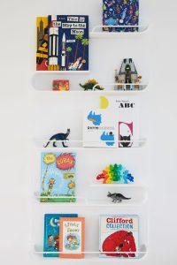XL Rafa Shelf in Boys shared bedroom Kids decor