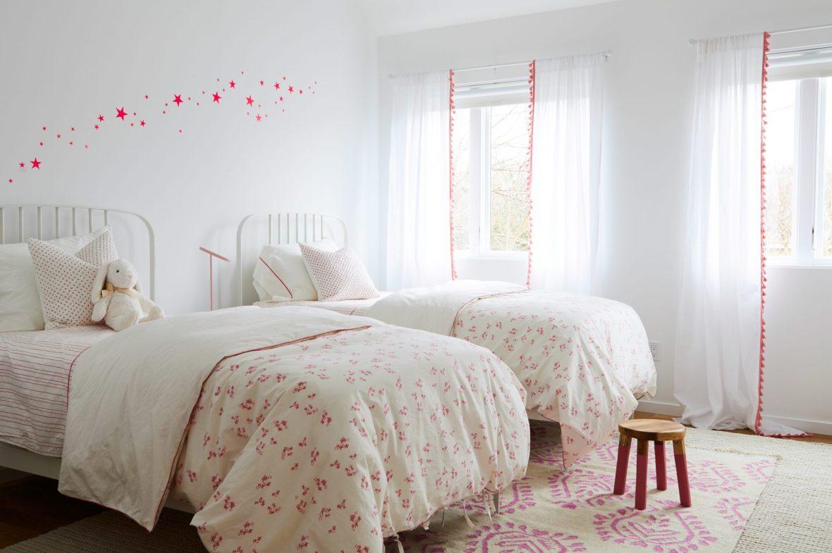 Muuto Little Auggie girls bedding pink wall stickers ferm living