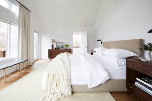 Modern Warm Calming Master Bedroom Intimate Space
