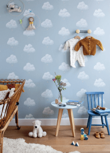 Bartsch paris childrens cloud wallpaper