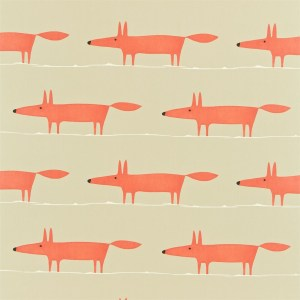 Mr Fox wallpaper by Scion