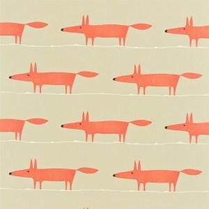Mr Fox wallpaper by Scion