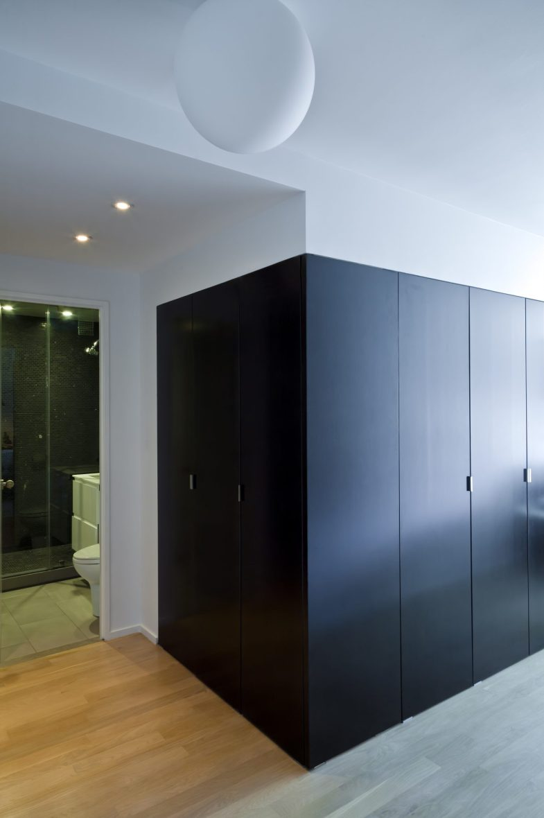 black box closets studio apartment maximize space