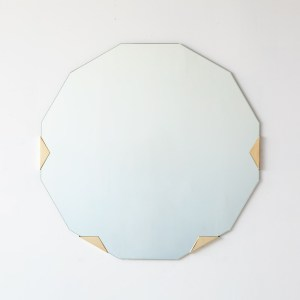 Haynes round wall mirror egg collective
