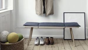 Georg wooden bench