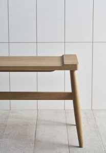 Pinch design IMO wood bench