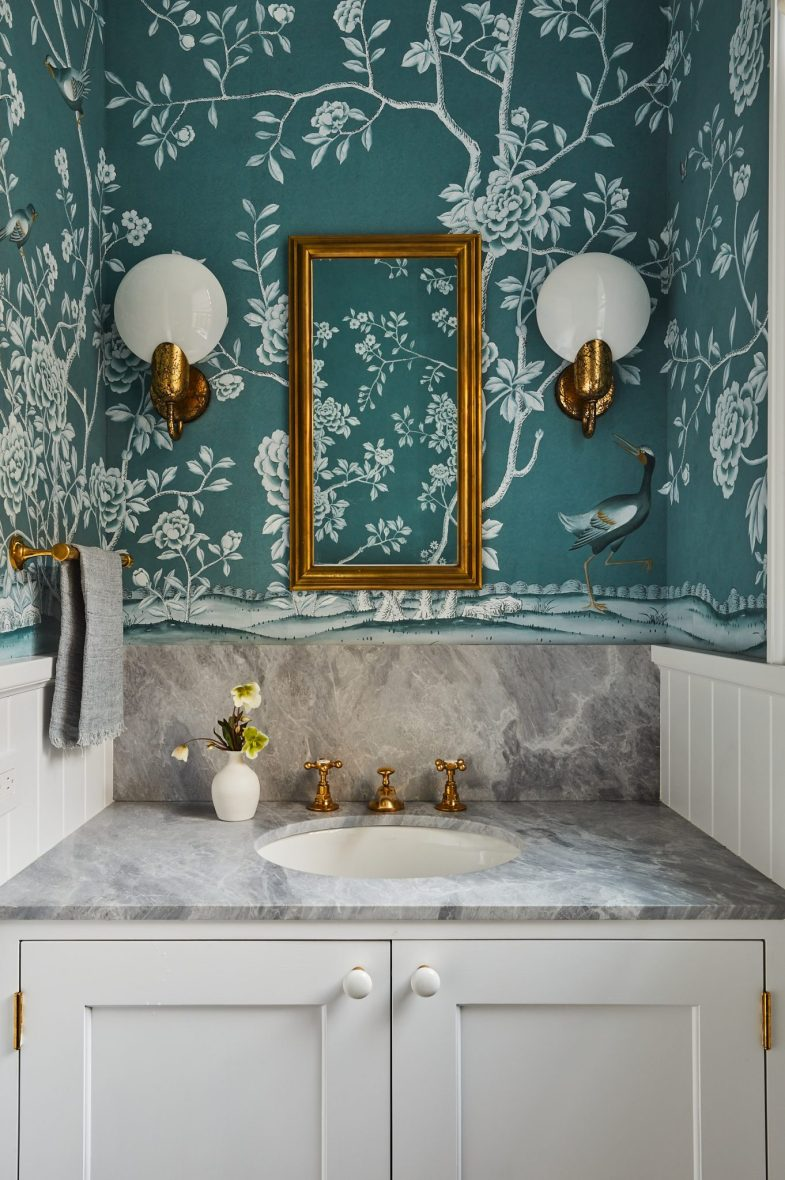 ronen lev townhouse powder room