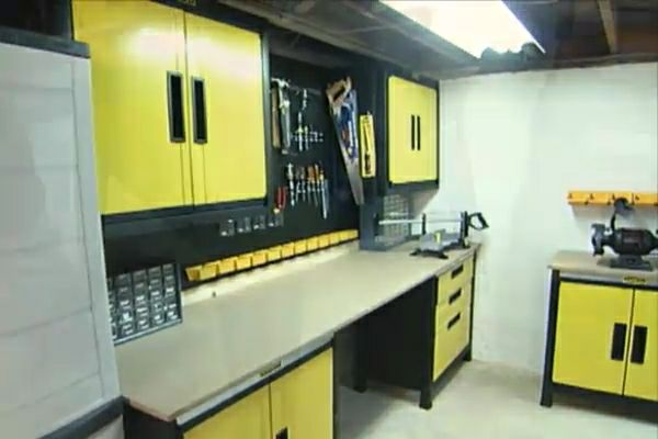 How To Make A Basement Workshop DIY Projects Amp Videos