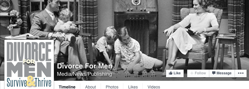 Ronin Studios, POrtland oregon, Facebook Cover, divorce for men