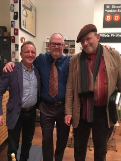 With Jay Goldberg and Lee Lowenfish