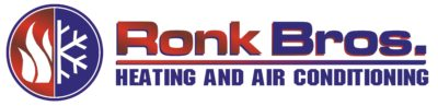 Ronk Brothers Heating and Cooling Logo