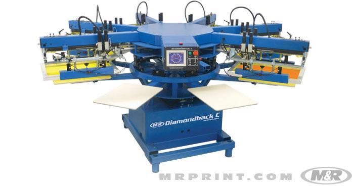 M Amp R Automatics Ronko Screen Printing Equipment