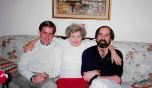 Ron, Bette Mom and Brother Greg, c1987