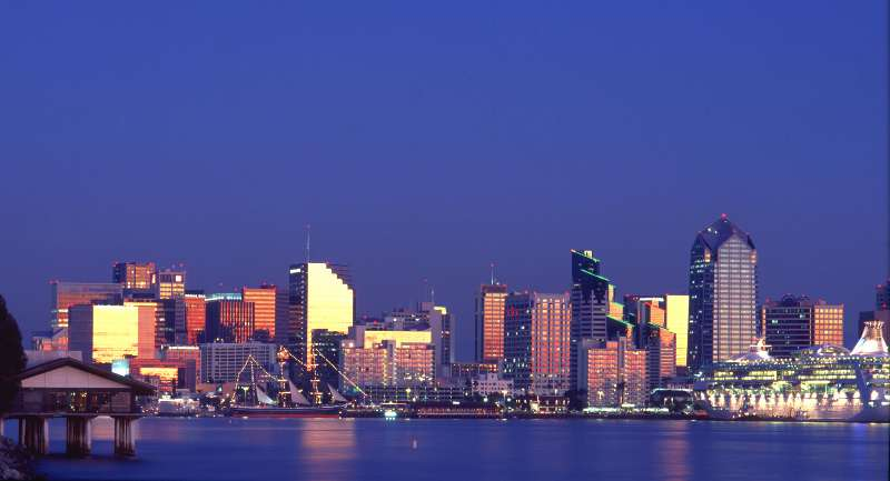San Diego Skyline...Boycott Manchester Hyatt