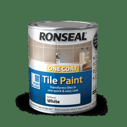 one coat tile paint tile paint ronseal