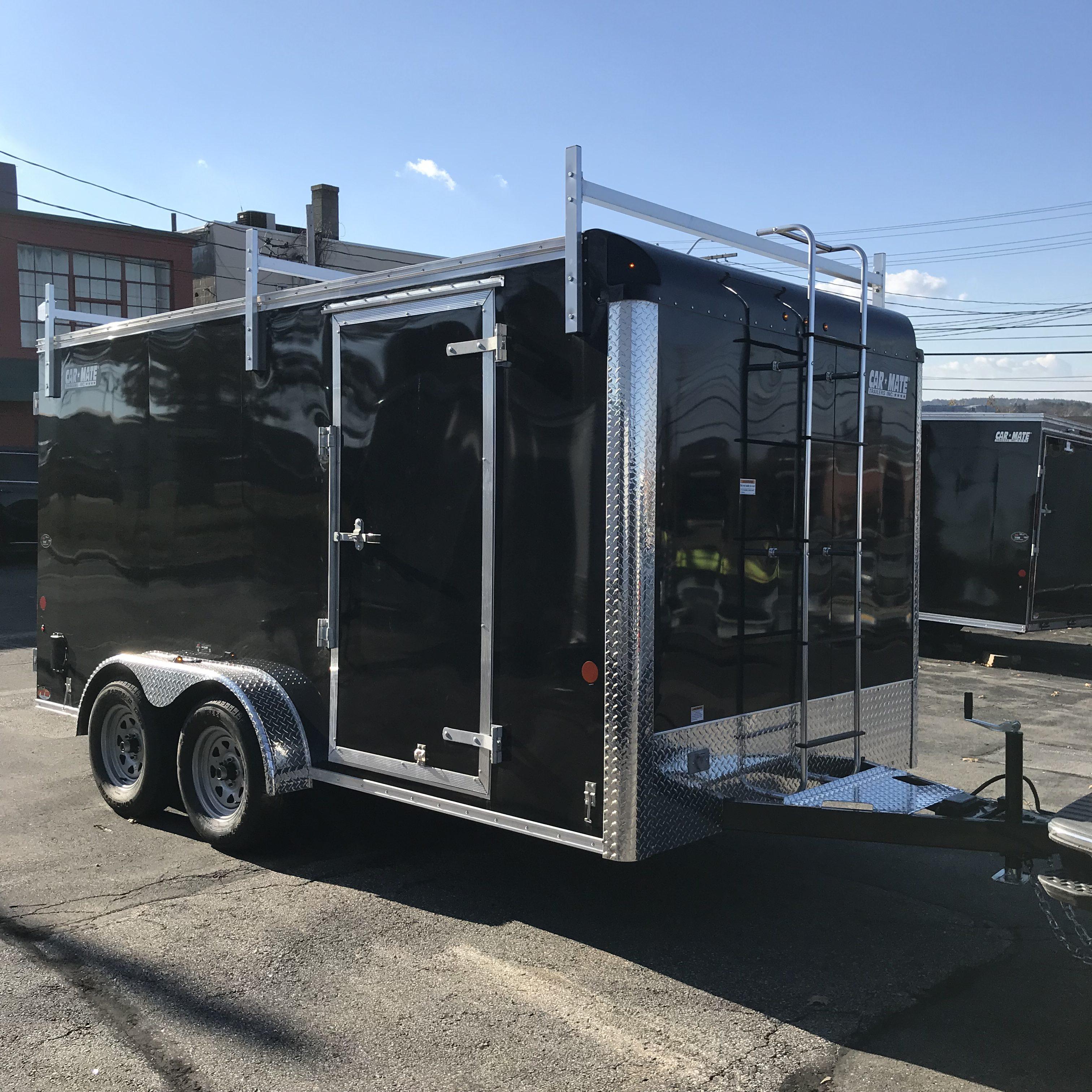 enclosed contractor trailer 7 x14
