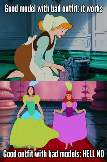 The moral of the Cinderella story? Don't be mean. Or ugly.