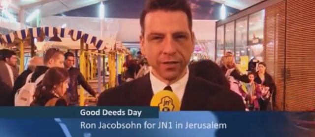 Ron Jacobsohn Attends the 2014 Good Deeds Day Celebrations