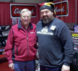 ron the parts guy and vic edelbrock
