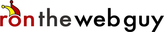 ron the web guy logo