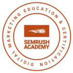 SEMrush certification logo