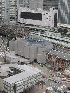 東京駅丸の内駅舎復原工事