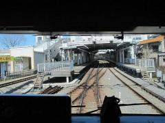 萩山駅到着
