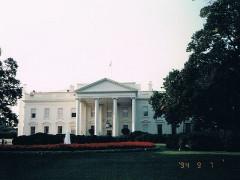 ホワイトハウスも見学