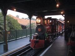 東京ディズニーランドの「ウエスタンリバー鉄道」