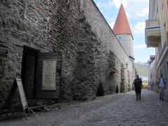 静かな城壁
