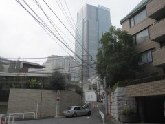 目の前に東京ミッドタウン