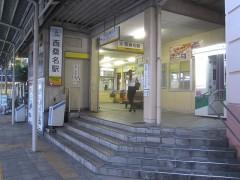 三岐鉄道北勢線西桑名駅