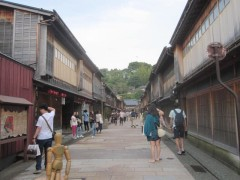 金沢へ…ひがし茶屋街