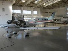 事故機のJA4060の表記が確認できる