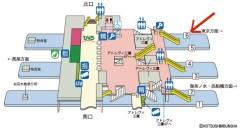 三鷹駅構内案内図