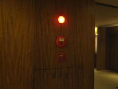 火災報知器の…