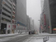寒い雪の日だって…