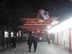 浅草寺は、もうすっかり年末年始の雰囲気