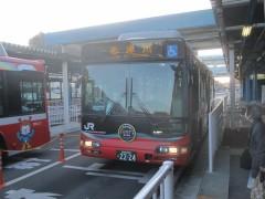 昨日に続き気仙沼線BRTに乗車