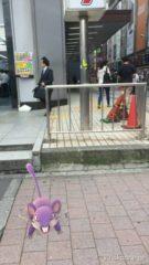旧新宿バスターミナルでも…