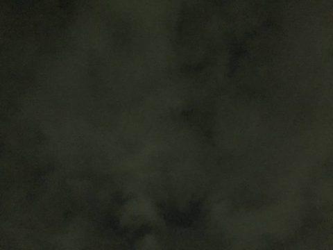 今年も、薄雲に覆われてた…