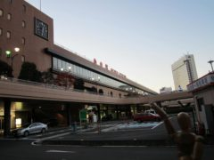 仙台駅の朝