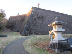 巨大な石垣